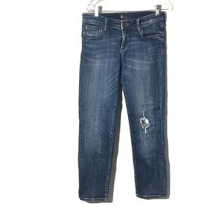KUT From the Kloth distressed Straight Jeans 6